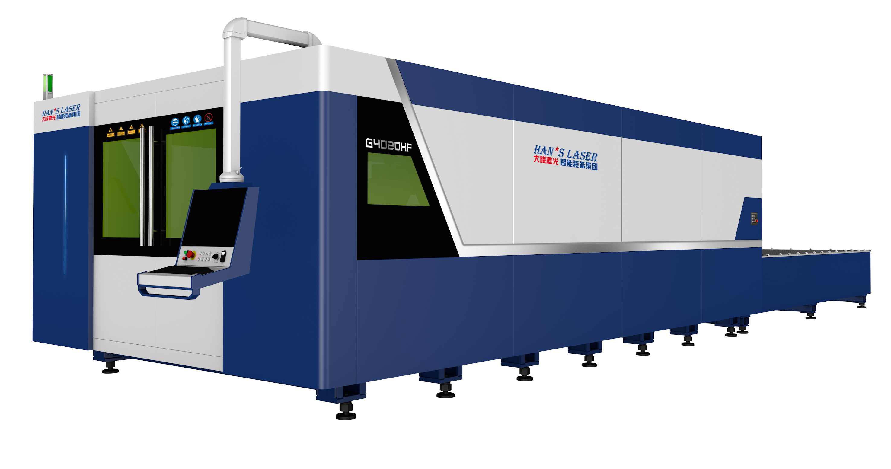 Neh High-speed High power fiber laser